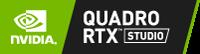 NVIDIAV Quadro RTX studio-logo